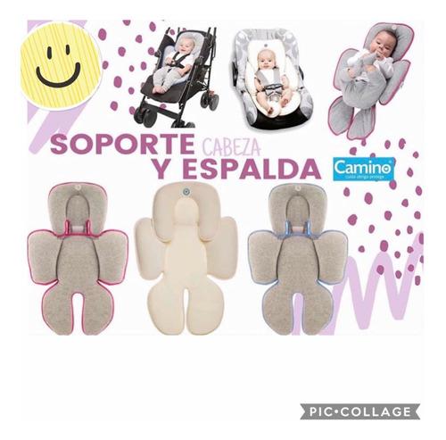 soporte para cabeza y cuerpo del bebé