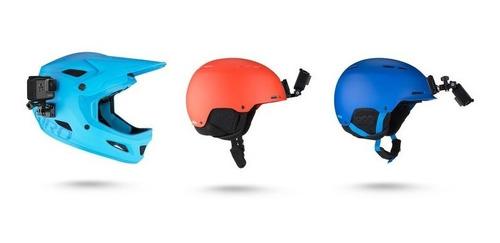 soporte para casco delantero y lateral gopro - osixstore.