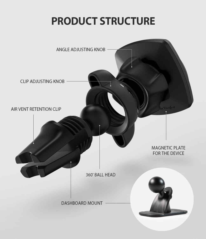Para coche para móvil para coche soporte para coche Mount para Huawei p30 pro p30 Lite