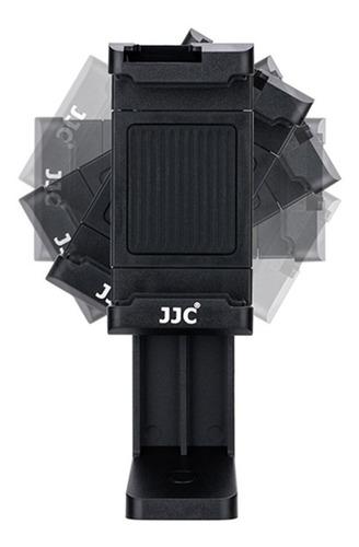 soporte para celular clip adaptador tripie camara jjc