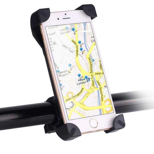 soporte para celular de bicicleta y moto 100% seguro