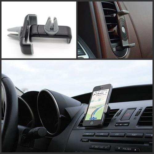 soporte para celular en salida de aire auto camioneta