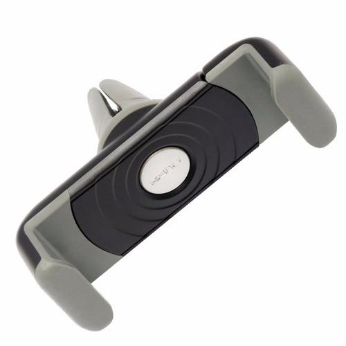 soporte para celular negro rejilla de auto ventilacion