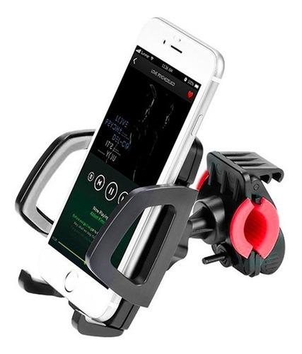 soporte para celulares bici o moto premium borde acolchado