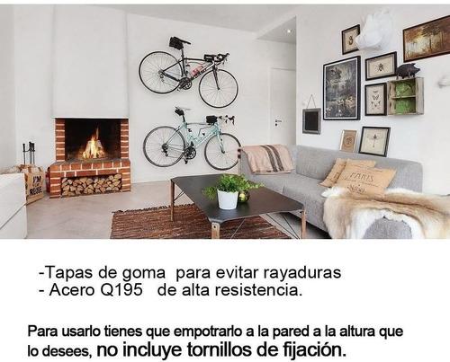 soporte para colgar bicicleta a la pared arnes de acero