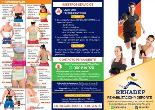 soporte para embarazo faja pre natal -s/.45-envío gratis