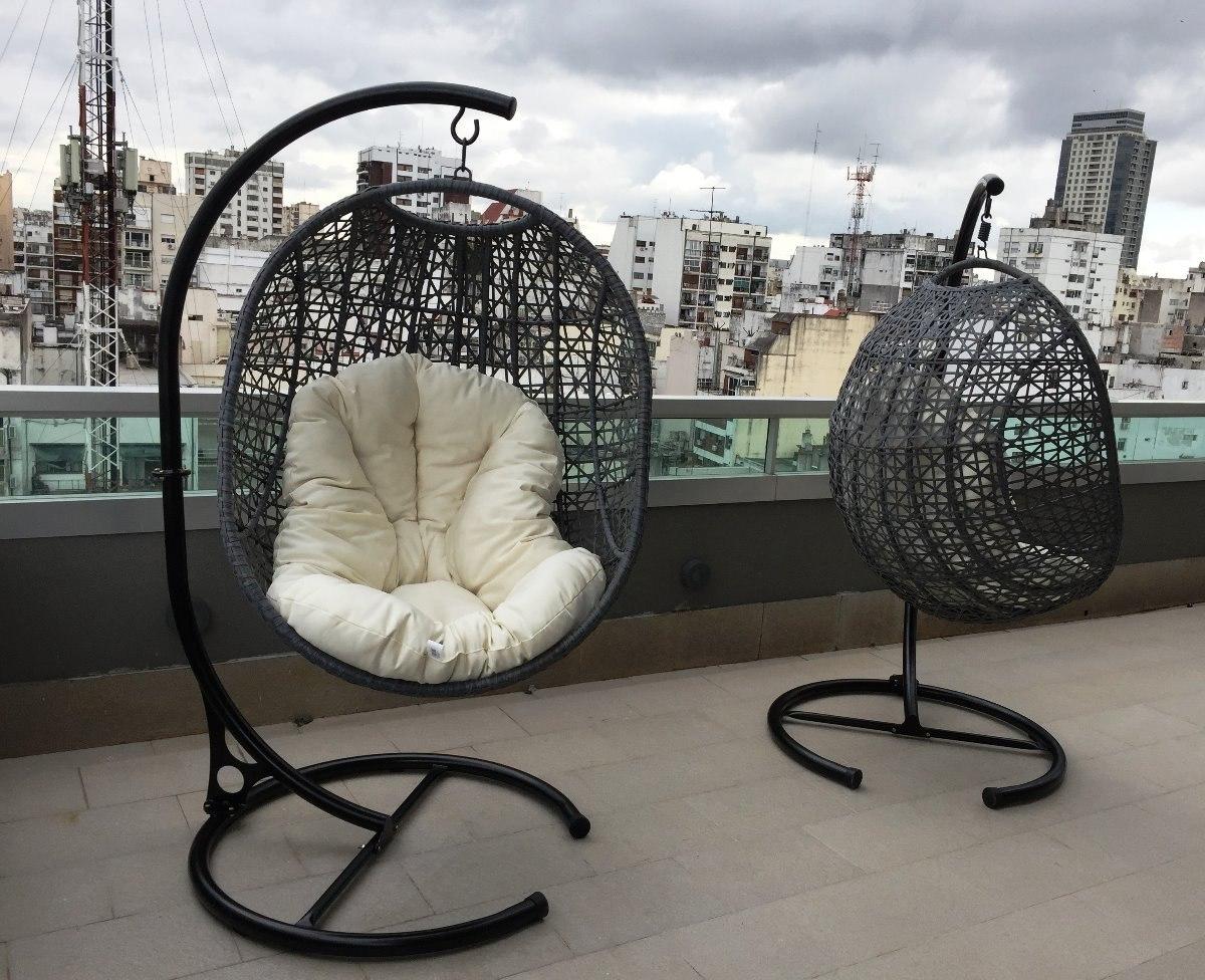 soporte para hamacas y sillones colgantes diseo estilo cargando zoom with sillones colgantes para jardin - Sillones Colgantes
