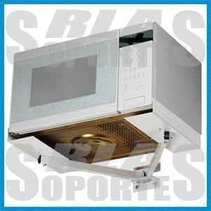 soporte para horno microondas universal regulable reforzado