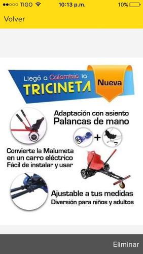 soporte para malumeta (tricineta)