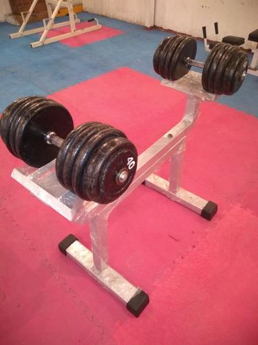 soporte para mancuernas color que necesite tu gym muy útil p