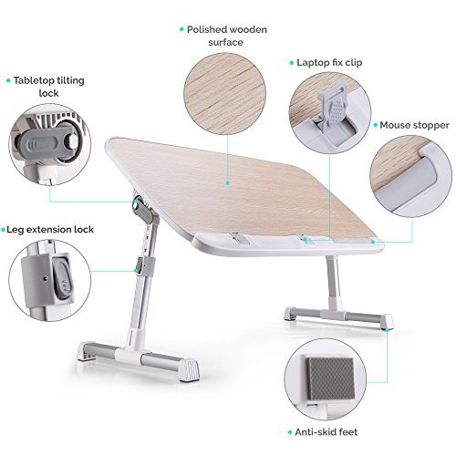 soporte para mesa plegable para portátil para cama portáti