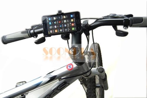 soporte para moto y bicicleta samsung galaxy s2 i9100