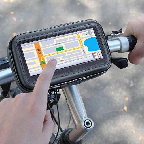 soporte para motocicleta gps mount bike handlebar waterproof
