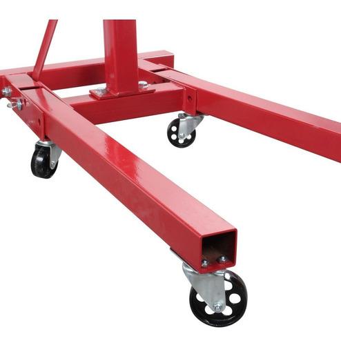 soporte para motor 1 ton plegable mikels modelo t-1085