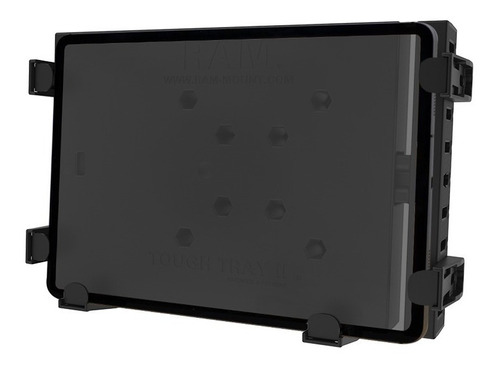 soporte para netbook / tableta con resorte tough-tray ram