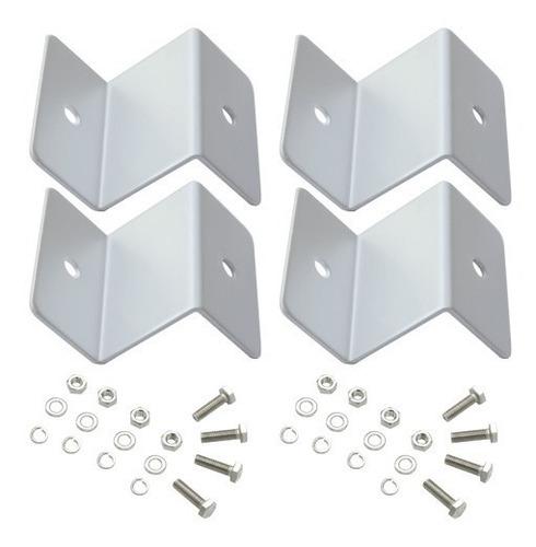 soporte para panel solar alumino y bulones ac inoxidable 02