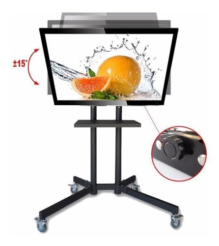 soporte para pantallas, led, lcd, plasma con ruedas 0504