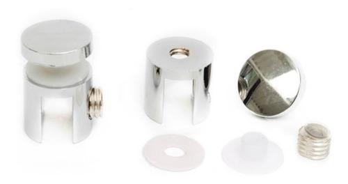 soporte para repisas cilíndrico sencillo l (par)