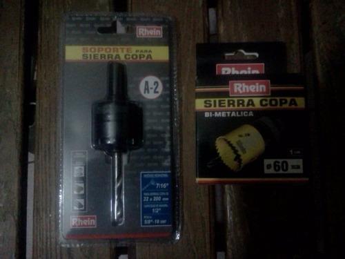 soporte para sierra copa  bi-metalica rhein a2
