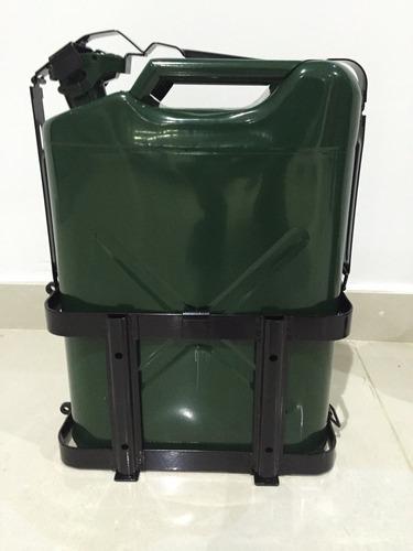 soporte para tanque gasolina jerry can para 4x4
