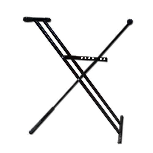 soporte  para teclado piano teclado reforzado caño doble