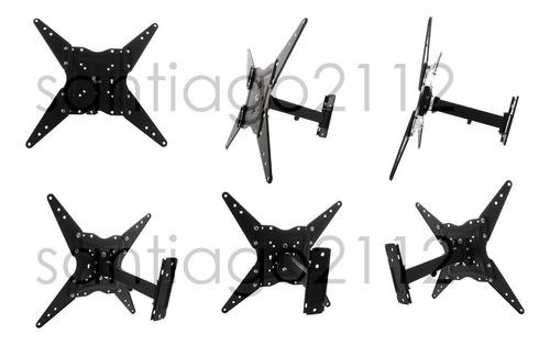 soporte para television 20 a 70 brazo inclina gira xtech 410