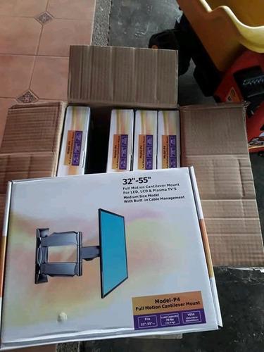 soporte para televisión de 14  a 55   giratorio en acero