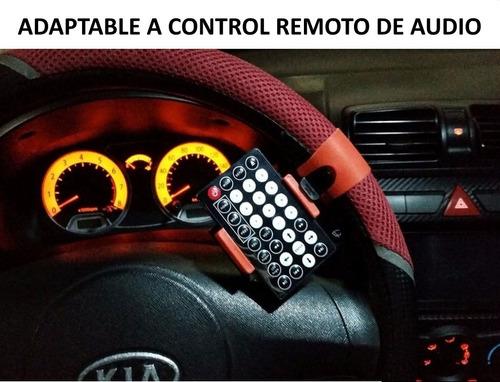 soporte para timon carro - celulares - gps - control audio