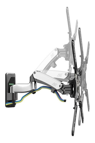 soporte para tv 40 a 55  nb north bayou f450 flexi silver