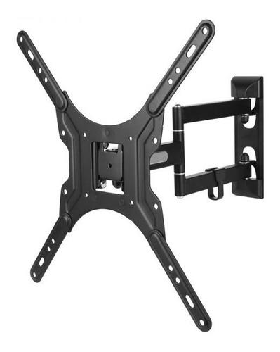 soporte para tv de 14  a 55p  50kg metalico negro accesorios