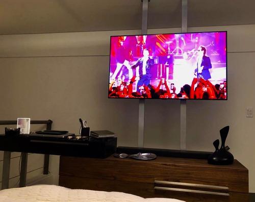 soporte para tv de pie moderno / piso-techo