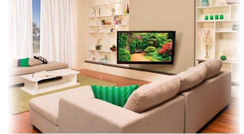soporte para tv lcd led 26 a 55 klip 885 inclinacion y giro