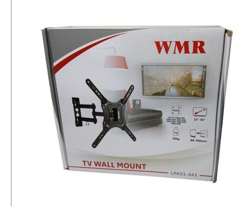 soporte para tv led brazo pulgadas vesa de 23 a 54