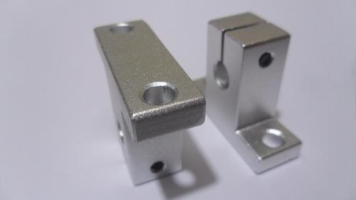 soporte para varilla lisa de 8mm diam. sk8