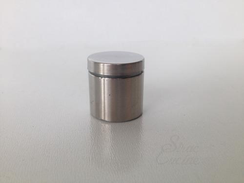 soporte para vidrio 25mm accesorios y herrajes de cocina
