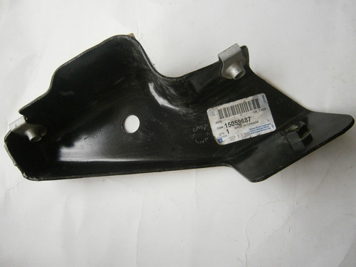 soporte parachoque delantero izquierdo silverado