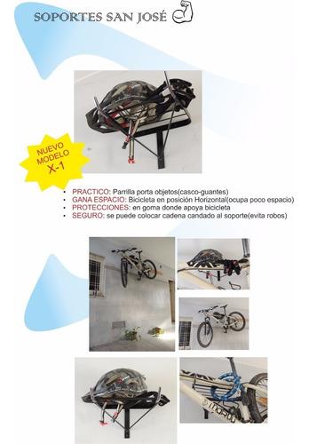 soporte pared bicicleta-modelo x1