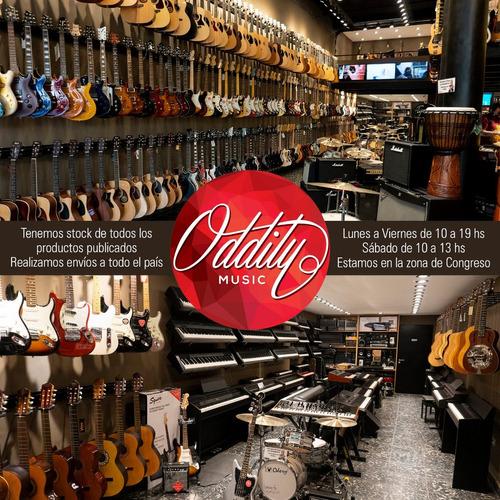 soporte pared para guitarra electrica criolla bajo - oddity