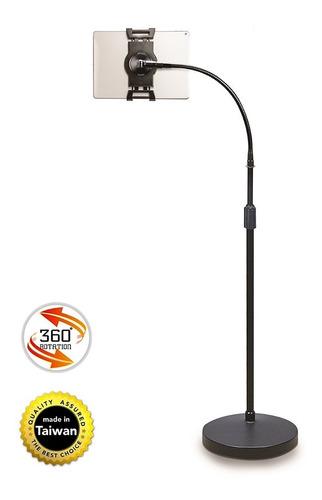 soporte pie inclinado tablet universal ipad altura aidata