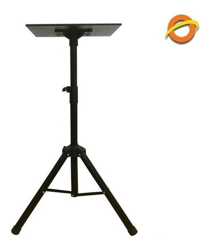 soporte pie proyector tripode bandeja metal daza