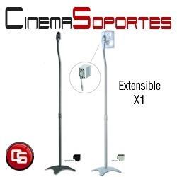 soporte piso parlante home theater 5.1 regulable csx1