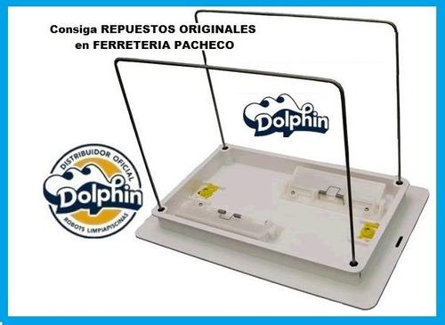 soporte plastico broche repuesto traba robot dolphin