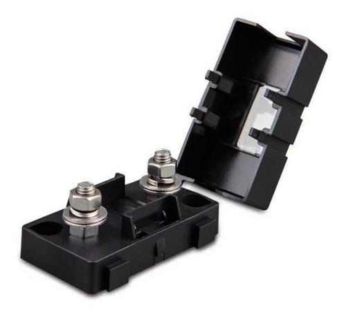 soporte porta fusible plano batería 200a 30mm cuotas sin int