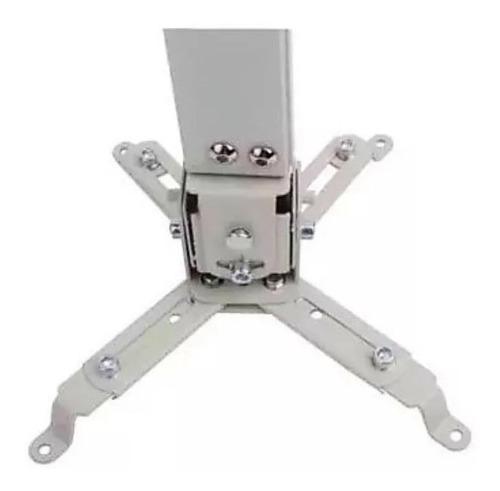 soporte proyector universal cañón ajustable 10kg techo pared