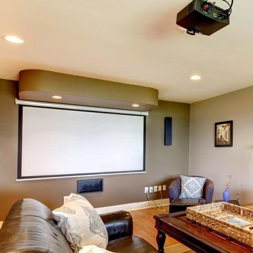 soporte proyector universal pared negro prb5 vision elite