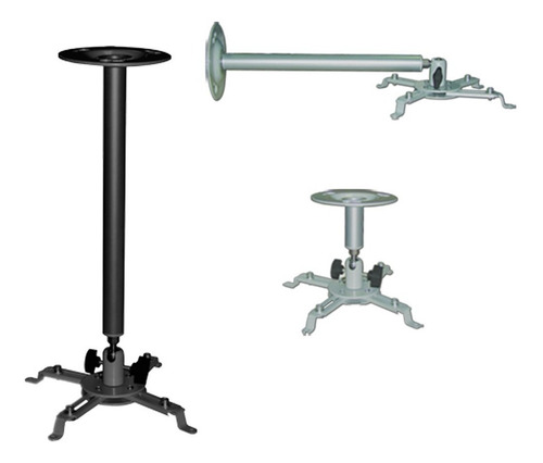 soporte proyector universal techo pared con extensor kit