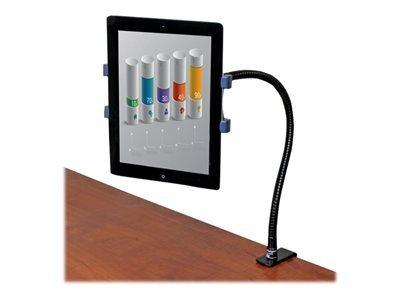 soporte p/tableta startech.com cuello d/cisne plástico/acero