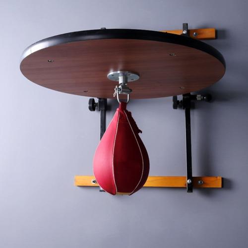 soporte regulable importado profesional + pera boxeo + rotor