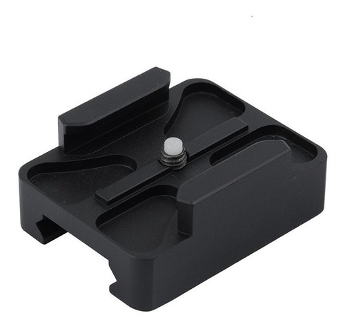 soporte rifle rail mount chico para gopro hero 1 2 3 3 + 4 5