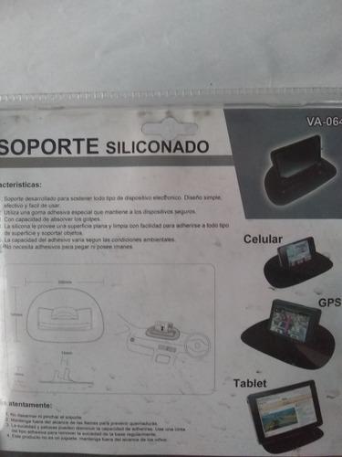 soporte siliconado gps tablet otros